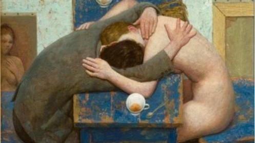 Kenne-Gregoire-1951-Novo-pintor-do-realismo-Vida-intima